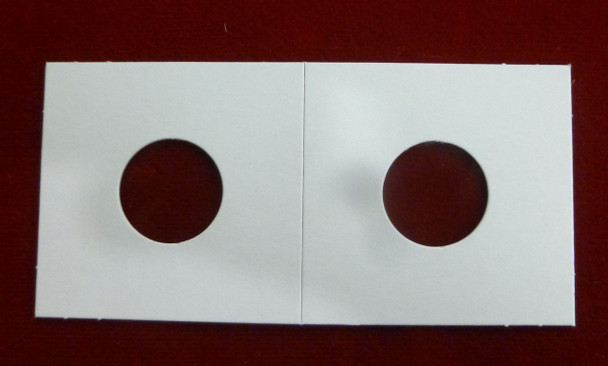 CARDBOARD 2x2 COIN HOLDER - 100 PACK - CENT OR DIME SIZE