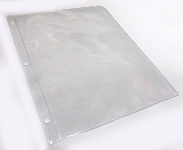 COIN & CURRENCY BINDER PAGE - 1 POCKET