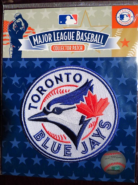 MLB TORONTO BLUE JAYS TEAM LOGO COLLECTOR PATCH