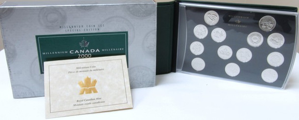 CANADIAN SPECIAL EDITION 2000 MILLENNIUM COIN SET