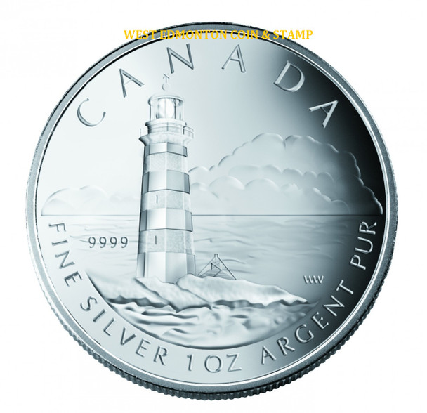2004 $20 FINE SLVER COIN - CANADIAN LIGHTHOUSE SERIES - SAMBRO ISLAND