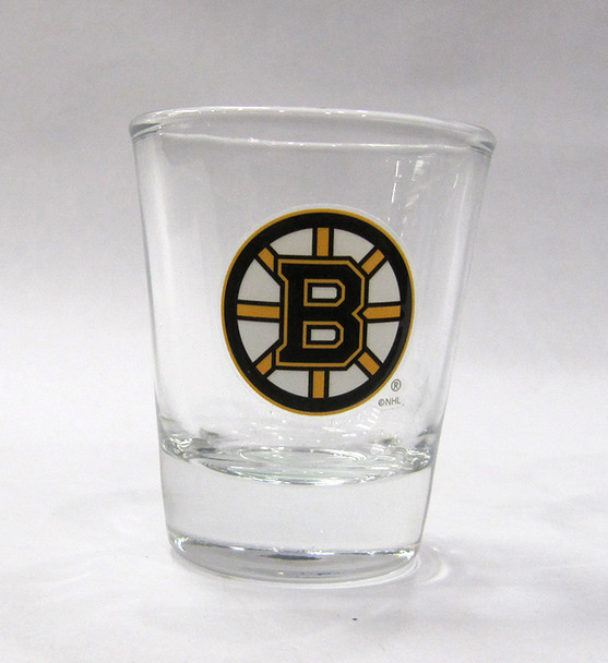 BOSTON BRUINS - NHL HOCKEY - SHOT GLASS