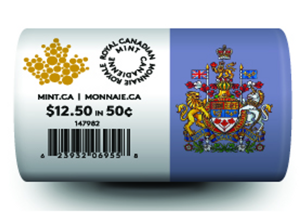 2016 CIRCULATION COIN ROLL – 50 CENTS