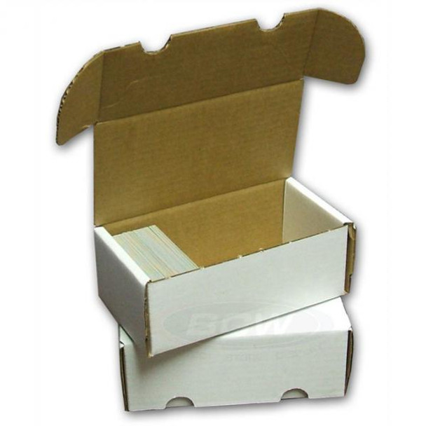CARDBOARD STORAGE BOX - 400 CARDS