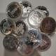 10 MIXED CANADIAN SILVER DOLLARS (1971-1991) (3.75oz. SILVER)