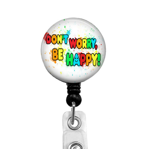 Don't Worry Be Happy Badge Reel