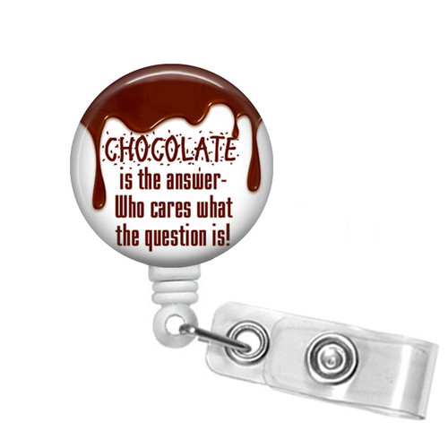 Chocolate Lovers Badge Reel