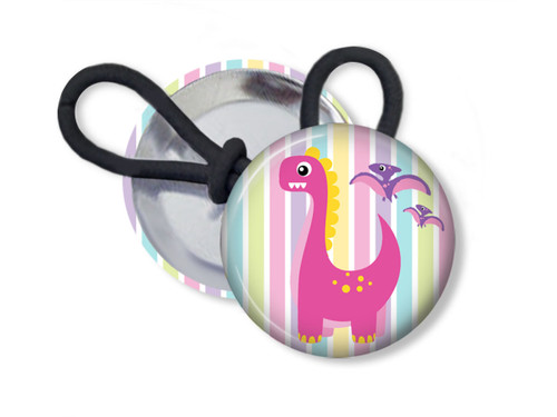 Dinosaur Ponytail Holder or Shoelace Charm