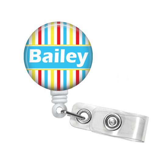 Personalized Name Badge Holder 335B