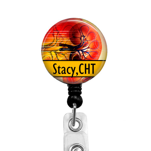 Certified Hemodialysis Technician Badge Reel