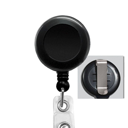 Black Belt/Slide Clip Badge Reel
