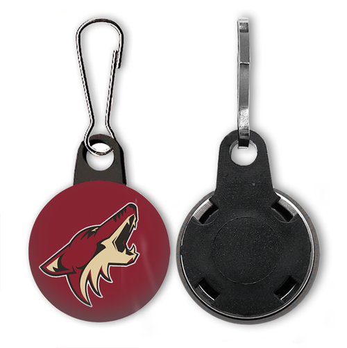 Arizona Coyotes Zipper Pull - Charm