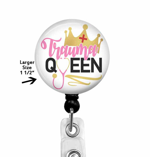 Trauma Queen Badge Reel