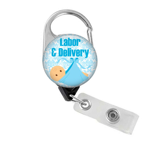 Labor and Delivery Badge Reel