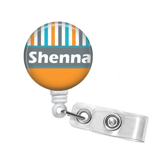 Personalized Name Badge Holder