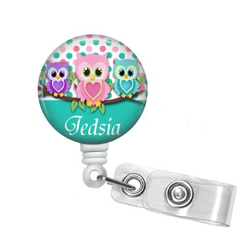 Owls Badge Reel