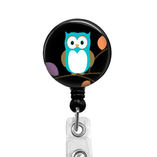 Cute Owl Badge Reel