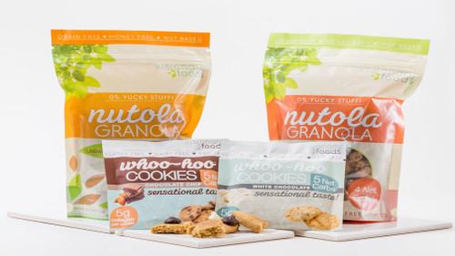 20% Off Visionary Foods Nutola Granola & Woo-Hoo Cookie  Combo Packs