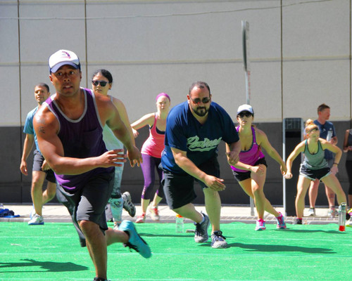 FREE Convention Center Stairs Bootcamp by Vivi of Balanced Fitness & Health