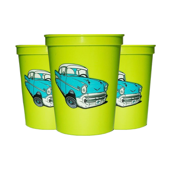 Cruis'n Cups 4 Pack (Lime)