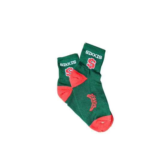 Green and Red Sock