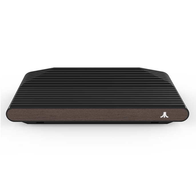Atari VCS Black Walnut features real wood in a retro-modern design