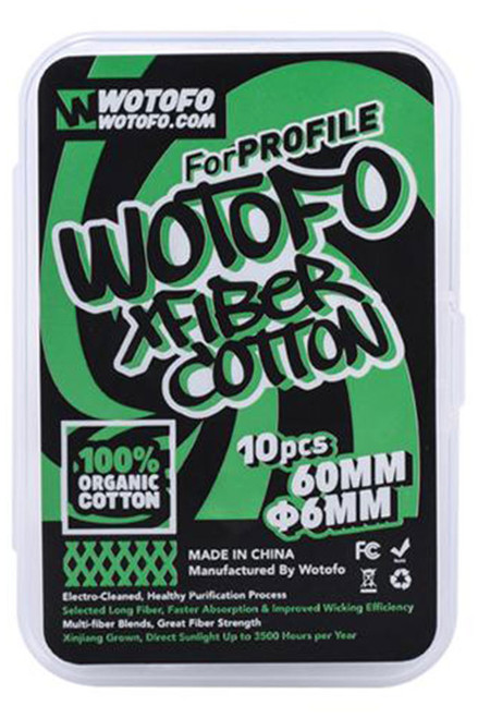 Wotofo XFiber Agleted Cotton Strips