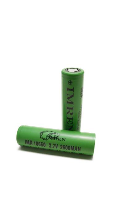 Imren 18650 Battery Laying Down