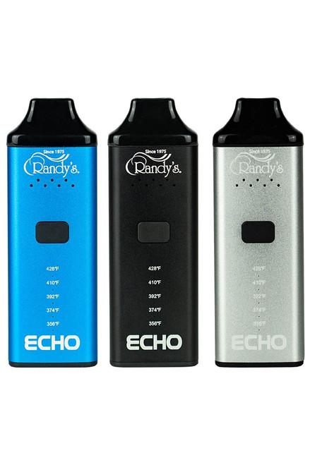 Randy's ECHO Black Dry Herb Vaporizer