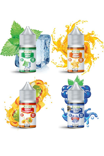 Pod Juice Salt Nicotine E-Liquid (30ml)