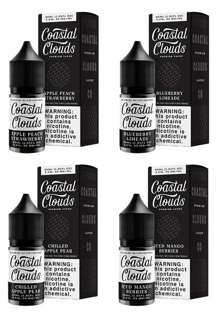 Coastal Clouds Salt E-Liquid - 30ml