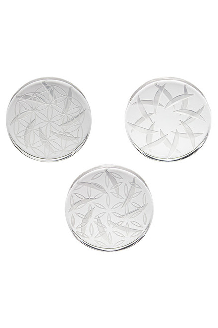 Flat Disc Spinner Carb Cap - 40mm