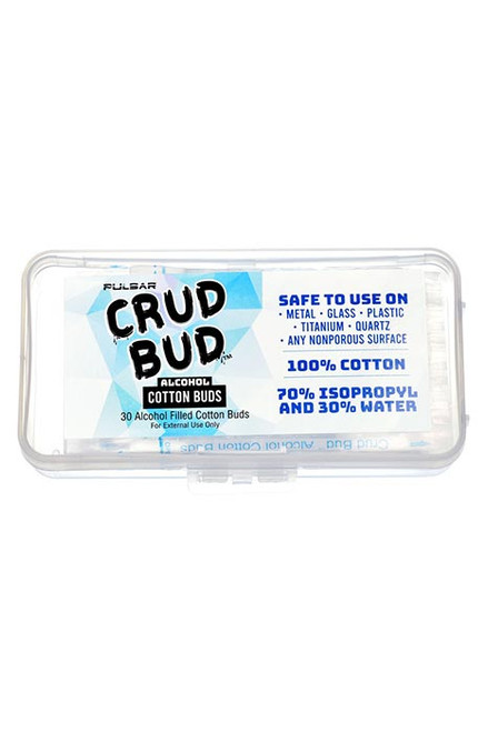 Pulsar Crud Bud Alcohol Filled Cotton Buds - 30pc