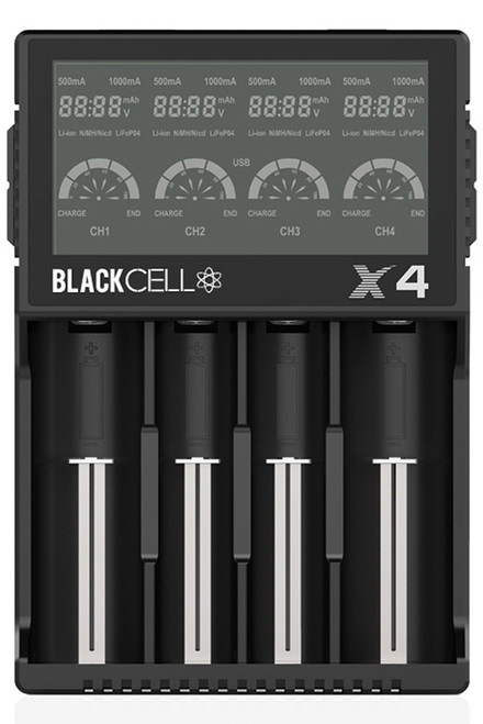 Blackcell X4 LCD Battery Charger