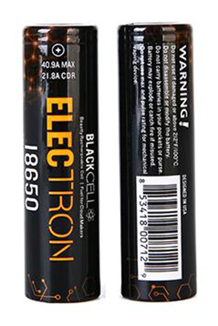 Blackcell Electron 18650 Battery