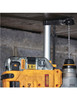 Tapered core for bit strength and maximum durability, especially when drilling deep holes.