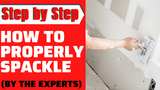 How To Properly Spackle - Step By Step Guide
