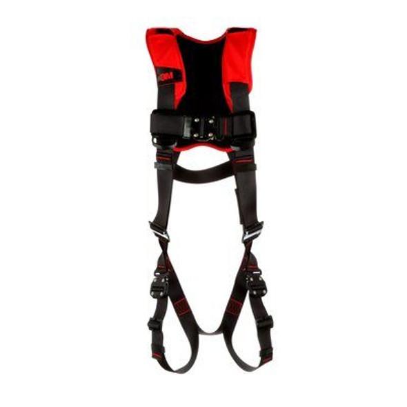 3M Protecta Comfort Vest-Style Harness 1161427C, Black, Medium/Large