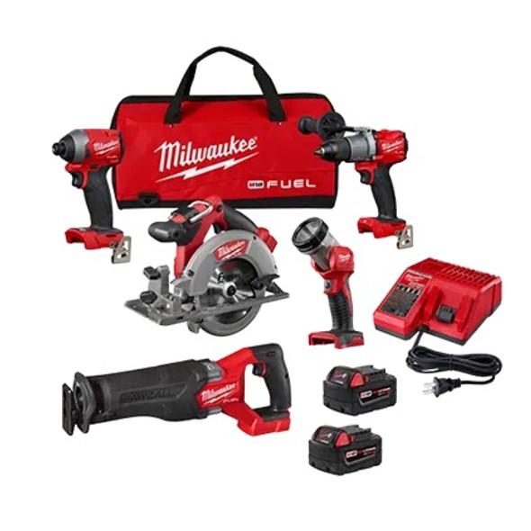 Milwaukee 2998-25 M18 Fuel 5-Tool Combo Kit