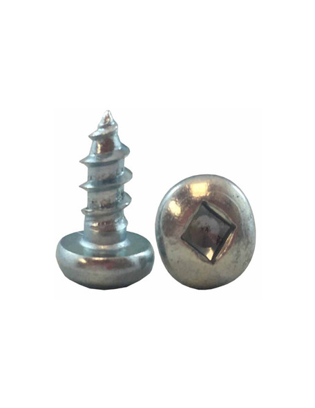 #10 Pan Head Sheet Metal Screw - Zinc - Multi Size