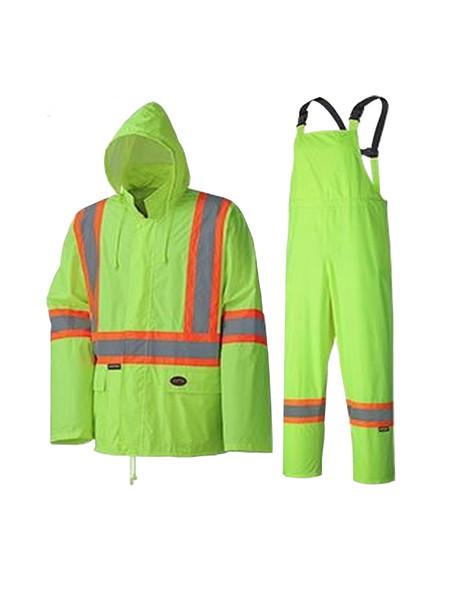 Pioneer 5599 Hi-Viz Yellow/Green Lightweight Rainsuit - Multi Size