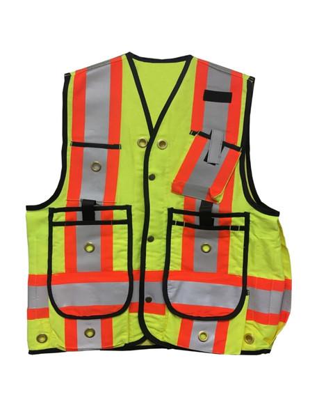 Lime Surveyor Vest VESTSL - Multi Size