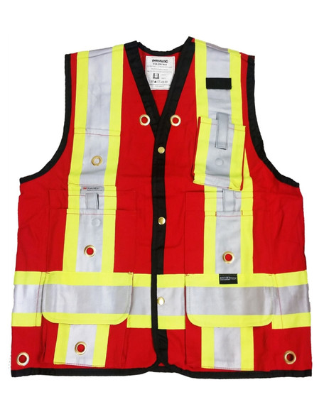 Red Surveyor Vest VESTSR - Multi Size