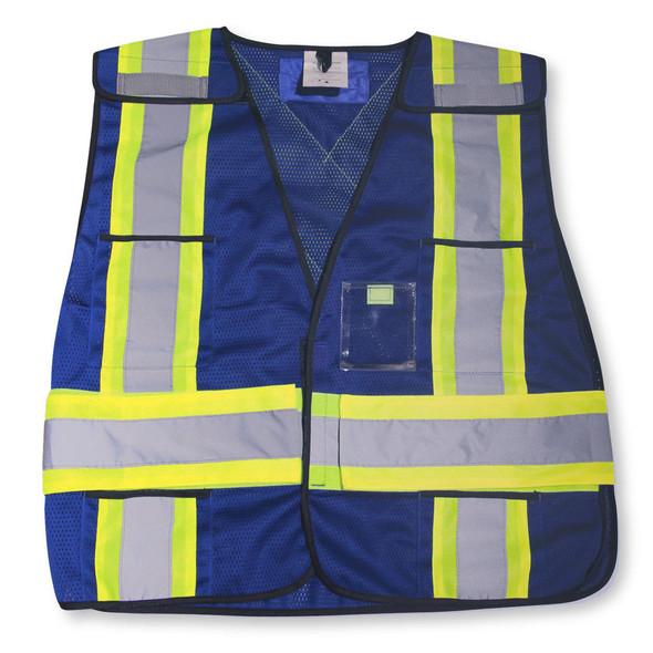 Big K Clothing BK101RB Blue Safety Vest