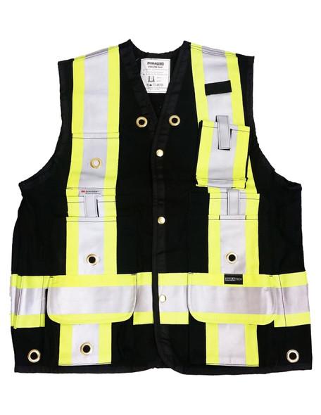 TRIVESTBLK - Black Surveyor Vest