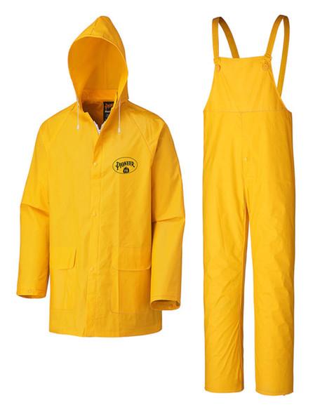 Pioneer 578 Flame Resistant PVC 3-Piece Rain Suit