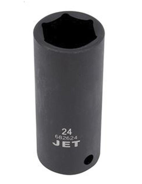 "JET 1/2"" Drive Metric Deep Impact Socket - 6 Point"