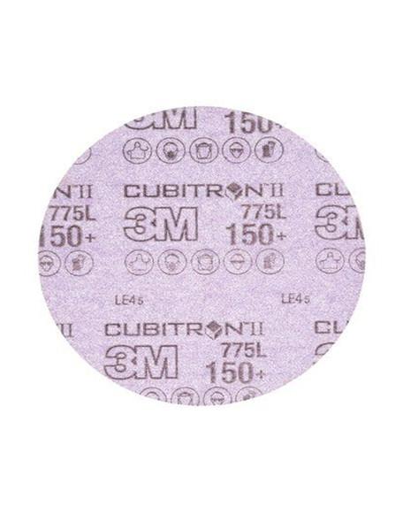 """3M 64259 Cubitron II Hookit Film Disc 775L, 150G, 3 MIL, 6""""-50PK"""