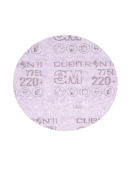 "3M 64269 Cubitron II Hookit Film Disc 775L, 220G, 3 MIL, 5"""