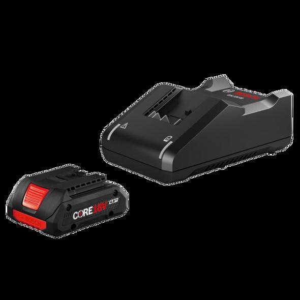 Bosch  GXS18V-15N15 18V CORE18V Starter Kit with  CORE 18V 4.0 Ah Compact Battery